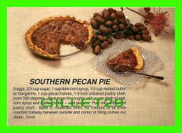 RECEIPE - RECETTE - SOUTHERN PECAN PIE - WRITTEN - - Recettes (cuisine)