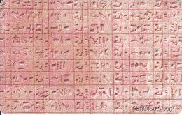 Venezuela, CAN2-0196, Alphabets, Alfabeto Egipcio (2/6), 2 Scans. - Venezuela