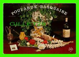 RECEIPE - RECETTE - POULARDE BASQUAISE -ÉCRITE - - Recettes (cuisine)