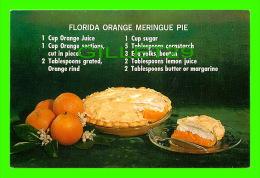 RECIPES - RECETTES - FLORIDA ORANGE MERINGUE PIE - CIRCULÉE - Recettes (cuisine)