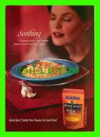 RECIPES - RECETTES - POACHED SALMON & ASPARAGUS - UNCLE BEN'S - - Recettes (cuisine)