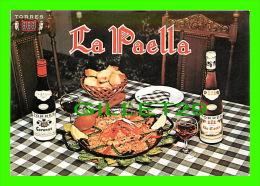 RECIPES - RECETTES - LA PAELLA ESPAGNOLE TRADITIONNELLE - TORRES - - Recettes (cuisine)