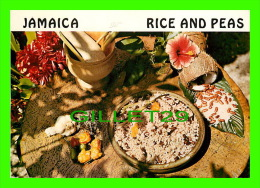 RECIPES - RECETTES - JAMAICA, RICE AND PEAS - - Recettes (cuisine)