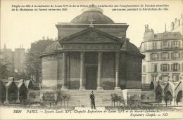 PARIS 8 - Square Louis XVI - Chapelle Expiatoire De L XVI Et De Marie-Antoinette             -- ND 3298 - Distretto: 08
