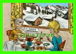 RECIPES - RECETTES - UNE FONDUE BOURGUIGNONNE - ÉDITIONS EDY - - Recettes (cuisine)