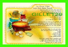 RECIPES - RECETTES - LES GROSSES CRÊPES DU QUÉBEC - LARGE OVEN BAKED PANCAKE FROM QUEBEC - - Recettes (cuisine)