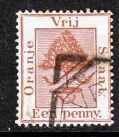 Orange Free State  3  Fault  (o) - South Africa (...-1961)