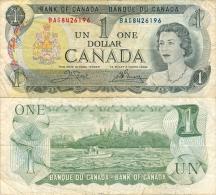 Banknote 1 Kanadischer Dollar $ Kanada Canada Dollars Geldschein Money Geld Note Canadian - Canada