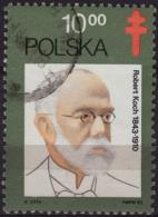 Robert Koch - TUBERCULOSIS - TBC  - POLAND 1982 - Used Stamp - Maladies