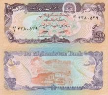 Banknote 20 Afghanis Afghanistan AFA Geldschein Asien Asia Money Geld Afghani Note Money - Afghanistan