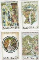 Samoa 1996 Water For Life - Samoa