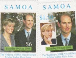 Samoa 1999 Royal Wedding - Samoa