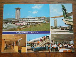 "AERODROM "" SPLIT "" / Anno 1980 ( Zie Foto Voor Details ) !! - Yougoslavie"