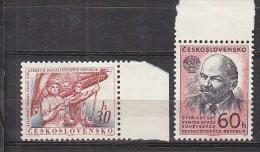 PGL BC278 - TCHECOSLOVAQUIE Yv N°1238/39 ** - Cecoslovacchia