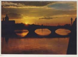 FIRENZE -  Tramonto, Sunset, Coucher Du Soleil, Sonnenuntergang   ,  NOVA LUX  Card No. 718 - Firenze