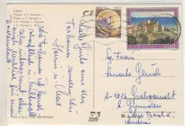 """SIENA  - Piazza """" Il Campo"""" , francobollo speziale, special stamp"""