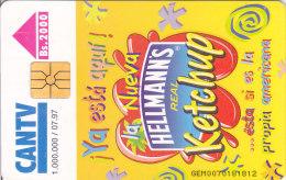 Venezuela, CAN2-0235, Croquetas De Arroz A La Ketchup Hellmann's, 2 Scans. - Venezuela