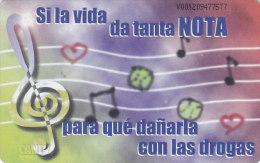 Venezuela, CAN2-0254, Notas Musicales, 2 Scans. - Venezuela