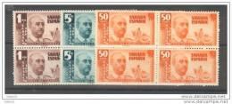 SHR88-L2299TO.SAHARA   ESPAÑOL.General Franco.1951.(Ed 88/0** Bl4)SIN CHARNELA.LUJO - Otros