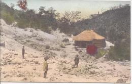 7795 - Japon Maison Et Paysans Dans La Montagne / Japan House And Peasants - Japon