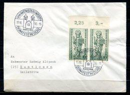 "Germany 1956 Heimatbeleg Münster Mit Berlin Mi. Nr.133 U.SST""Münster (Westf.)-Domfestwoche ""1 Beleg - BRD"