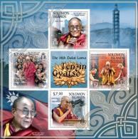 Solomon Islands. 2013 Dalai Lama. (312a) - Other