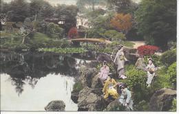 7802 - Japon Femmes Au Bord De La Rivière / Japan Women On The Stone's River - Japon