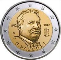 Giovanni Pascoli 2 Euro Commemorativo 2012 Italia - Italia