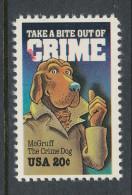 USA 1984 Scott  #  2102. Crime Prevention, MNH (**). - Nuevos