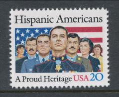 USA 1984 Scott  #  2103. Hispanic Americans, MNH (**). - Nuevos