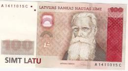 LATVIA-100 LATI- 2007 - POLIMER  UNC - Latvia