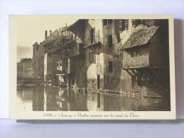 (74) - ANNECY - VIEILLES MAISON SUR LE CANAL DU THIOU - Annecy
