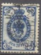 1901-03 1st Letterpress Issue 20 Penni 14,25x14 Mi 58AI / Facit 58I / Sc 73 / YT 58 Used/ Oblitéré / Gestempelt [lie] - Oblitérés
