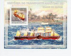 Voilier--Mozambique 2009- YTB186***MNH- - Ships