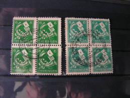 == Deutsche  Post Thüringen  2 Farben Als Blöcke SST 1945-46 - Sowjetische Zone (SBZ)
