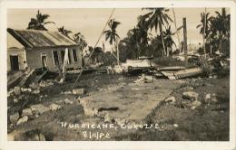 Corozal Belize Hurricane Real Photo Cyclon Photo Lizarraga British Honduras - Belice