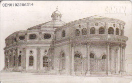 Venezuela, CAN2-0372, Municipal Theater, Perspectiva 1881-1949  (1/3), 2 Scans. - Venezuela