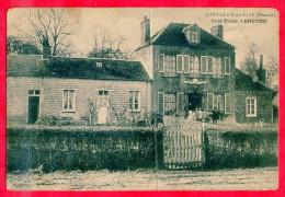 Saint Clair Sur Elle. Café - Tabac Leneveu - France