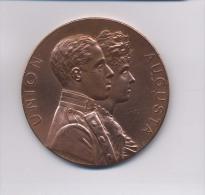 ALFONSO XIII Y VICTORIA EUGENIA DE BATTENBERG MADRID 31 DE MAYO DE 1906 UNION AUGUSTA - Royaux/De Noblesse