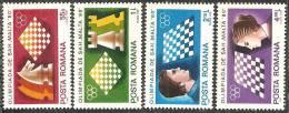 Romania 1980 Nuovo** - Mi.3747/50  Yv.3298/301 - 1948-.... Repubbliche