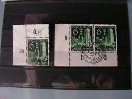 == DR Lot Mit 714  2 X Eckrand , Selten - Sowjetische Zone (SBZ)