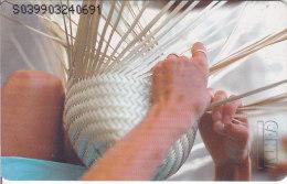 Venezuela, CAN2-0452, Venezuelan Craft, La Cestería Teje Tradiciones  (3/4), 2 Scans. - Venezuela