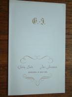 Gaby SULS - Jan JANSSENS Merksem 23 Juli 1952 ( Zie Foto´s Voor Detail ) ! - Mariage