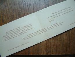 Gilberte LEROUX / Paul STéGEN - L'église Du Christ-Roi ( Tour Japonaise ) 4 Septembre 1943 ( Zie Foto´s Voor Detail ) ! - Mariage