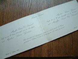 Louisa VAN LOMMEL / Lucien GOOSSENS Achter Oolen18 November 1941 ( Zie Foto´s Voor Detail ) ! - Boda