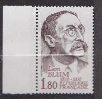N° 2251 Hommage à Léon Blum Ecrivain Et Homme Politique - France
