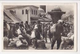 Cpa KOSOVO SARAJEVO Bascarsija  Pazarni Dan  Marché - Prestampavanje Zabranjeho - Kosovo