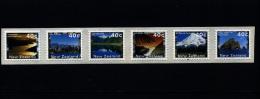 NEW ZEALAND - 2000 SCENERY 40 C. SELF-ADHESIVE PHOSPHORISED PAPER  MINT NH - New Zealand