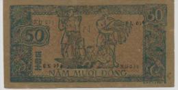 VIETNAM  P. 27b 50D 1948 AUNC - Vietnam