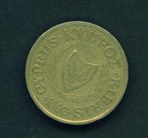 CYPRUS - 1992 10m Circ. - Cyprus